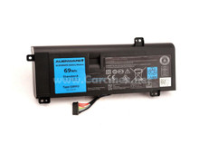 DELL Alienware 14 A14 M14X R3 R4 Battery LI-ION 11.1V 6 CELL 69WH BLACK TYPE-G05YJ NEW DELL Y3PN0, 8X70T