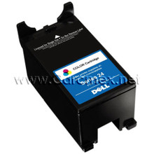 DELL V715W SINGLE USE HIGH YIELD COLOR CARTRIDGE (SERIES 24R)  NEW DELL T110N, X769N, Y499D, 330-5288