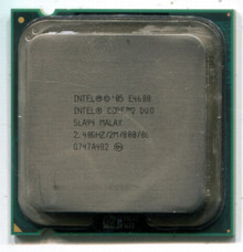 DELL INTEL CORE2 DUO E4600  2.40GHZ/2M/800 SOCKET LGA775 CPU REFURBISHED DELL  SLA94, HH80557PG0562M