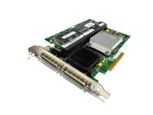 DELL POWER EDGE 1800,1850,1900,1950,2850,2900,2950,6800,6850,800,830, PERC 4E/ DC PCI-E CONTROLLER CARD 128MB / TARJETA CONTROLADORA, DELL REFURBISHED, H0629, TD977