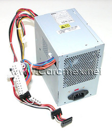 DELL DIMENSION E520 MT POWER SUPPLY 305W / FUENTE DE PODER REFURBISHED DELL  XK215, PH333, JH994, NH493, C248C, FY632, NK595