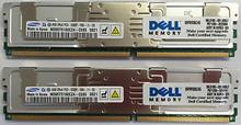 DELL POWEREDGE 2900/2950 MEMORIA ORIGINAL DE 8 GB (2 X 4 GB) KIT 667 MHZ ( PC2-5300 ) ECC NEW NANYA A2257233, SNP9F035CK2/8G