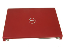 DELL STUDIO 1555 1557 1558 LCD U8 BACK COVER RED HINGES / TAPA LCD ROJA CON BISAGRAS REFURBISHED DELL  6PNWT T210N