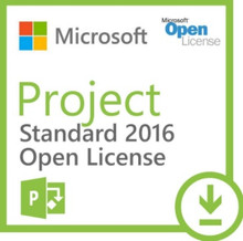 MICROSOFT PROJECT 2016  SINGLE OPEN LIC P NO LEVEL , 076-05674