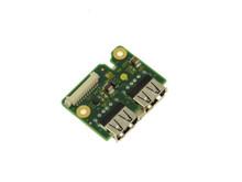 DELL LATITUDE E6420 XFR USB DAUGHTER BOARD / CIRCUITO DE TARJETA USB  DELL  7R4GR, 60DYK