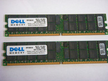 DELL Poweredge 1800 1850 2800 2850 6800 6850 Memoria 8GB (2X4GB) 400 MHZ (PC2-3200) NEW DELL SNPX1564C/4G