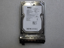 DELL POWEREDGE 1TB 7.2K RPM 3GB/S 3.5 SAS HARD DRIVE W/ TRAY / DISCO DURO CON CHAROLA NEW DELL CP464