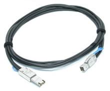DELL EXTERNAL CABLE MINI-SAS SFF-8644 TO SFF-8088  HD2MINI 2M NEW DELL 6N57X, YJXMR, 331-8477, 470-AASD