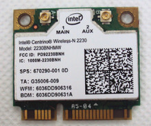 DELL LAPTOP WIRELESS-N 2230 BLUETOOTH 4.0 GHZ WLAN 802.11 MINI-PCI EXPRESS NEW DELL 2230BNHMW, 5DVH7