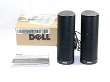 DELL BOCINAS ESCRITORIO AX210 USB / STEREO SPEAKERS NEW DELL R126K, 313-7362, T6X1G