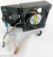 DELL OPTIPLEX GX520, GX620, 745, 755 SFF CPU COOLING FAN ASSEMBLY / VENTILADOR REFURBISHED DELL HU540, P8402, KG316