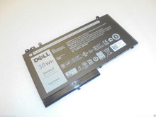 New DELL LATITUDE E5250, E5450, E5550 BATTERY ORIGINAL 3 CELL 38WH TYPE-RYXXH / BATERIA ORIGINAL 3 CELDAS 38WHR NEW DELL R5MD0, 5TFCY, 9P402, VVXTW, YD8XC, 2CP9F, 451-BBLJ