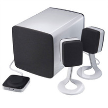DELL BOCINAS AY410 MULTIMEDIA COMPUTER SPEAKER SYSTEM + SUBWOOFER + ADAPTADOR NEW DELL R773P, AY410, 313-7966, U466N