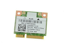 DELL INSPIRON 14Z 5423, 15 3521, 5521, 17 5721, 3721, 3520 WIRELESS DW1703 WLAN WIFI 802.11 B/G/N + BLUETOOTH HALF-HEIGHT MINI-PCI EXPRESS CARD NEW DELL FXP0D, DW1703