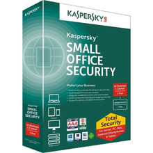 KASPERSKY SMALL OFFICE SECURITY  FOR 1 FILE SERVER AND 5 USER ( DESKTOP OR MOBILE) (FIXED-DATE) BASE LIC ELEC, 3 YEAR KL4534ZAETS