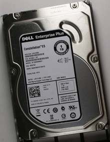 DELL  EQUALLOGIC PS4100 PS4100E PS4110E, PS6100 PS6100E PS6110E, PS6210E HARD DRIVE 1TB 7200RPM SERIAL ATTACHED SCSI (SAS) 150MBS 3.5 INCHES 6G 64MB / DISCO DURO SIN CHAROLA  NEW M5XD9,  ST1000NM0001