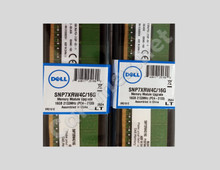 DELL Poweredge ORIGINAL Memory 16GB 2RX8 DDR4 UDIMM 2133 MHZ (PC4-17000) ECC NEW DELL A8661096, SNP7XRW4C/16G, K7XRW4