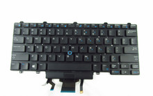 DELL LAPTOP LATITUDE E7440 E5450, E5470  INTERNAL DUAL POINTING KEYBOARD BACKLIT (ENGLISH) / TECLADO ILUMINADO DOBLE PUNTA EN INGLES NEW DELL  D19TR, F2X80