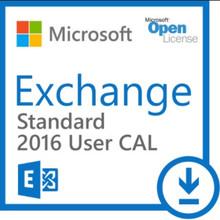 MICROSOFT EXCHANGE STANDARD CAL 2016 SNGL OLP NL USER CAL 381-04398