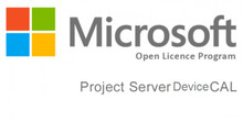 MICROSOFT PROJECT SERVER CAL 2016 SNGL OLP NL DEVICE CAL H21-03451