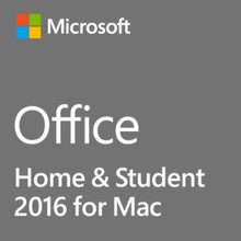 MICROSOFT OFFICE PARA MAC HOME & STUDENT 2016 INGLES DVD GZA-00846