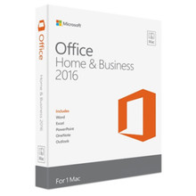 MICROSOFT OFFICE PARA MAC HOME & BUSINESS 2016 INGLES DVD W6F-00803