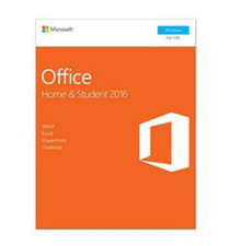 MICROSOFT OFFICE HOME & STUDENT 2016 INGLES 79G-04584