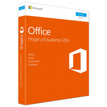MICROSOFT OFFICE HOME AND STUDENT 2016, ESPAÑOL CAJA- NEW   79G-04577