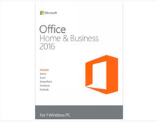 MICROSOFT OFFICE HOME & BUSINESS 2016 DVD 32/64 BIT INGLES T5D-02731