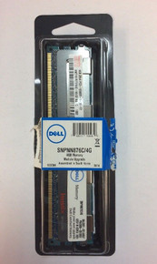DELL POWEREDGE MEMORIA 4GB  240P PC3-10600 DDR3-1333 1.5V ECC RDIMM NEW MT36JSZF51272PZ-1G4F1AB , SNPNN876C/4G, 32WYH, K374T, HMT151R7BFR4C-H9