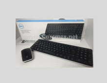 DELL Wirless USB Multimedia Keyboard Spanish and Mouse Combo KM714 / Teclado y Raton Inalambricos en Español NEW DELL KM714, 7FFXD
