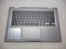 DELL LAPTOP INSPIRON 13 5368 5378  2-IN-1 PALMREST, TOUCHPAD & KEYBOARD SPANISH/ TECLADO, DESCANSAMANOS Y RATON DIGITAL ESPAÑOL  NEW DELL JCHV0