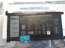 DELL Inspiron 13 7368 15 5567 Battery Original 3 CELL 42WHR 11.4V TYPE-WDX0R / Bateria 42WHR NEW DELL FC92N, WDX0R, 3CRH3