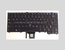 DELL Latitude 12 7000 E7240 E7440 Us Keyboard In English Point Stick Without Backlit Black / Teclado En Ingles No Iluminado NEW DELL 4G6VR, NSK-LD0UC