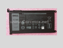 DELL Inspiron 15 5567 Battery Original 3 Cell 42WHR 11.4V TYPE-WDX0R / Bateria 42 Whr New DELL FC92N , Y3F7Y