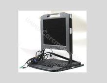 DELL Rackmount Monitor 1U 17INCH LCD KMM Console Computer Cabinet Monitors English Keybord /  REFURBISHED DELL RU943, PDJCN, FY452
