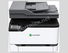 LEXMARK GO LINE Impresora Multifuncional a Color (22/24 PPM) Pantalla Tactil de 2.8 PULG. ADF Simple NEW LEXMARK MC3224ADWE