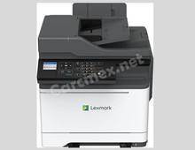 LEXMARK GO LINE Impresora Multifuncional a Color (35/33 PPM) Pantalla Tactil de 4.3 PULG. ADF Consecutivo NEW LEXMARK MC2535ADWE