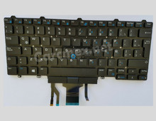 DELL Laptop Latitude 7490 5490 5491 Keyboard Spanish Backlit Pointer / Teclado en Español Iluminado NEW DELL G30V9