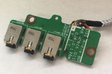 Dell Laptop OEM XPS M1730 Audio Port io Circuit Board / Tarjeta De Audio con Cable Dell Refurbished JR084 4Q606