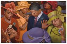 Citizens United - Obama Art Print - Henry Lee Battle