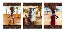 Off to Market (full) Art Print--Emilie Gerald