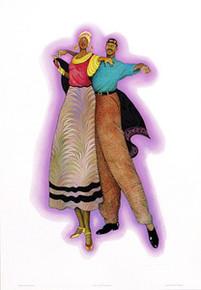 Duet (Signed) Art Print- Albert Fennell