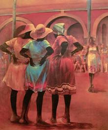 Listen To The Hipbones Art Print - Paul Goodnight