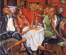 Evening Swing Art Print- Nicole Folkes