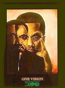 One Vision (Malcolm X & MLK Jr) Art Print - Bernard Hoyes