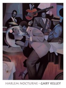 Harlem Nocturne Art Print - Gary Kelley
