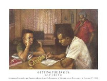 Getting The Basics Art Print - Brenda Joysmith