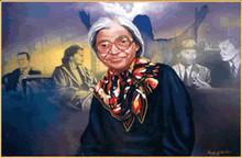Rosa Parks Limited Edition Art - Freddie H. Larkin