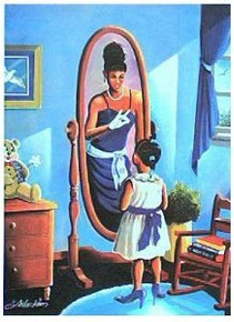 Every Little Girl's Dream (Zeta) Art Print - Lester Kern
